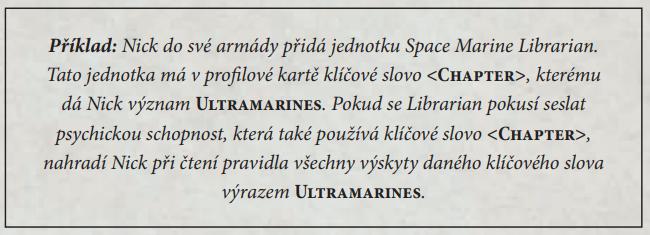 Warhammer rules