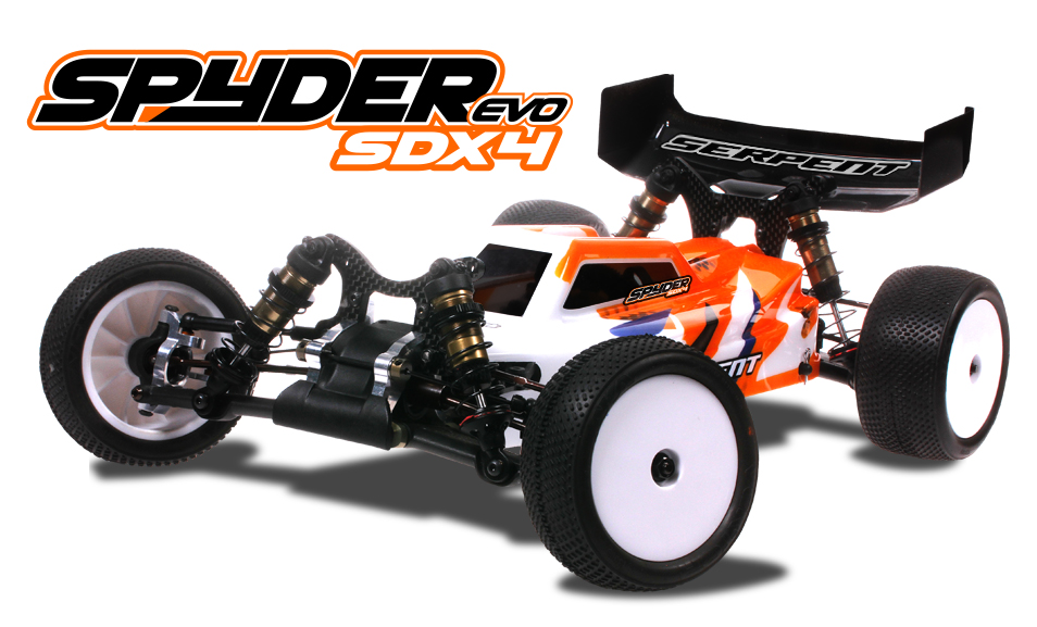 SERPENT spyder SDX4 evo